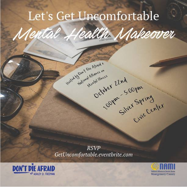 Let's Get Uncomfortable Mental Health Makeover
