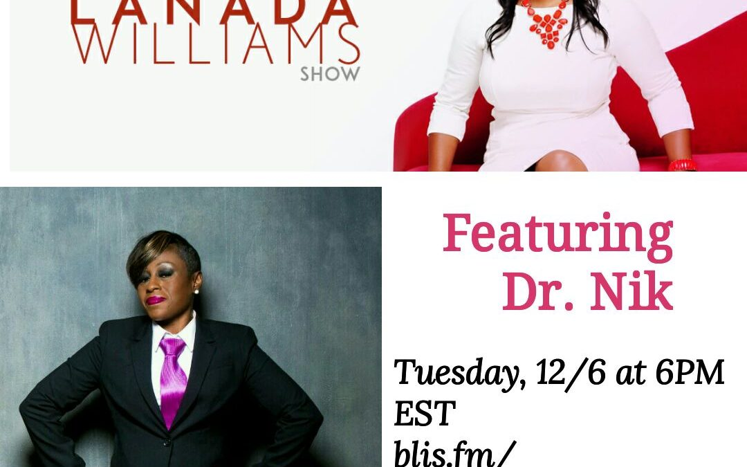 Radio Interview: The Lanada Williams Show